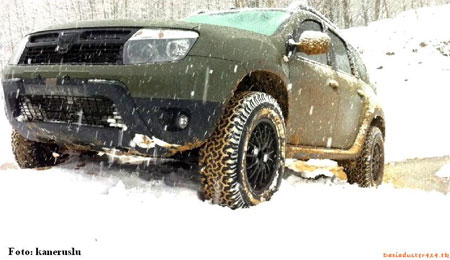 Renault Duster 235/70 R16 + 3 см